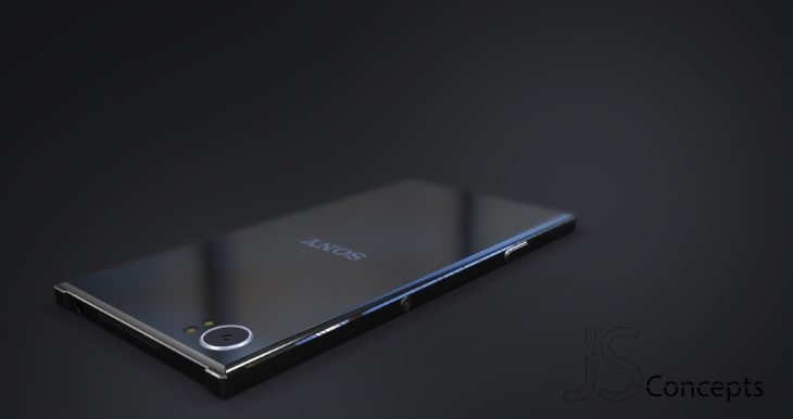 Sony Xperia PS design