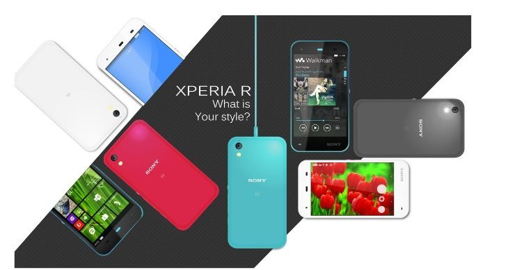 Sony Xperia R vision c