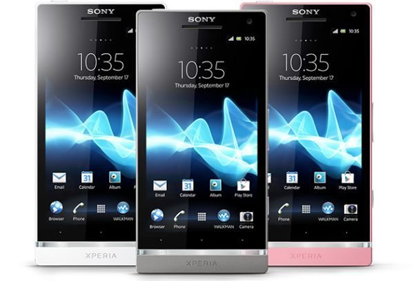 Sony Xperia SL and Acro S Jelly Bean update is ready