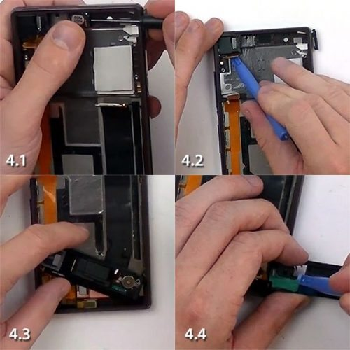 Sony Xperia Screen Repair - Teardown Guide 4