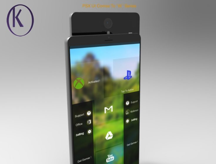 Sony Xperia W and W+ concept