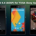 Sony Xperia Z Android 4.4 custom ROM for download