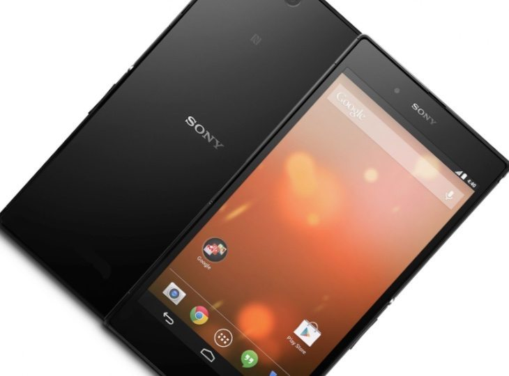 GPe Sony Xperia Z Ultra Android 5.0 Lollipop update rolling