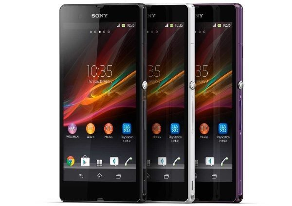 Sony Xperia Z incoming update