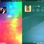 Sony Xperia Z1, Z2 screenshots compared