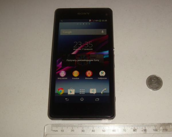 Sony Xperia Z1S (Mini) specs show again