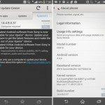 Sony Xperia Z1s KitKat update