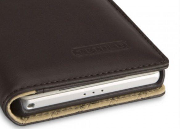 Sony Xperia Z2 premium leather case b