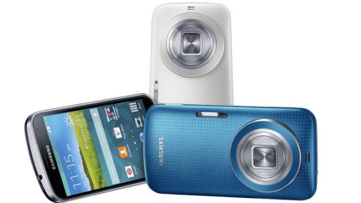 Sony Xperia Z2 vs Galaxy K zoom b