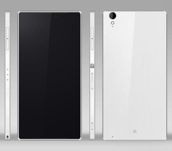 Sony Xperia Z4 design imagined with specs