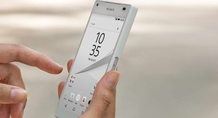 Sony Xperia Z5 Compact vs iPhone 6 b
