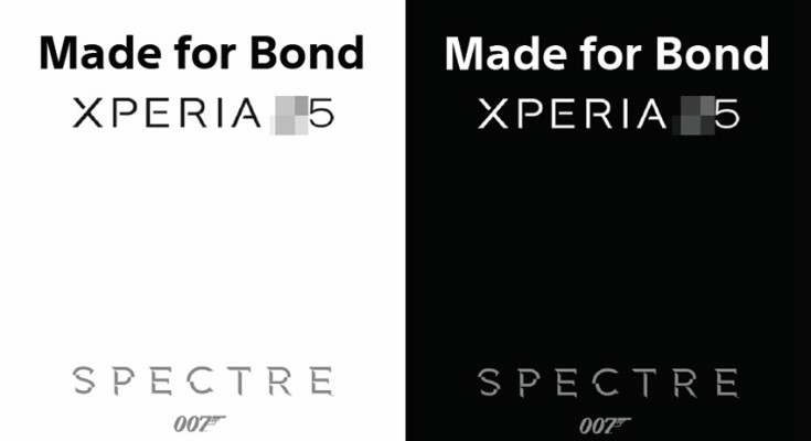 Sony Xperia Z5 Made for Bond collaboration?