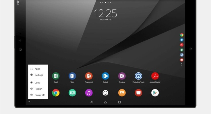 Sony Xperia Z5 Tablet Ultra renders b
