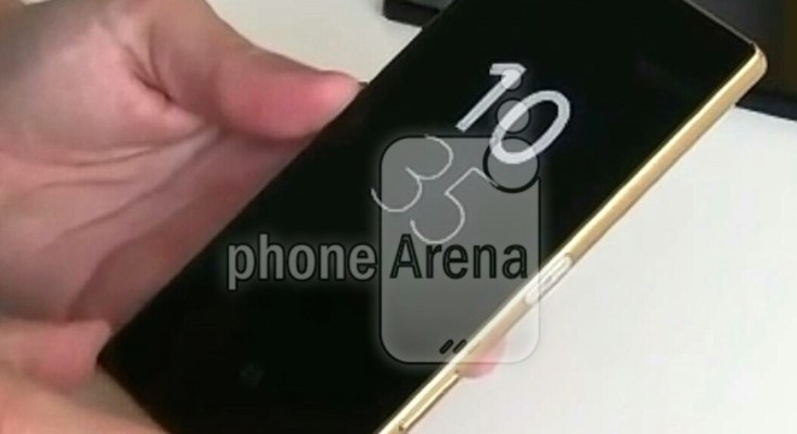 Sony Xperia Z5 in screenshot image ahead of launch