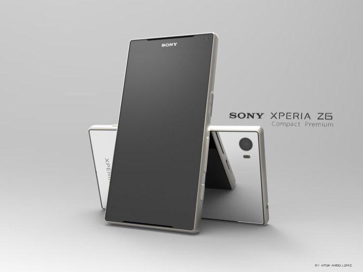 Sony Xperia Z6 Compact Premium design