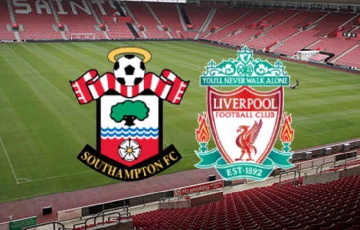 Southampton FC team and lineup news, live scores vs Liverpool