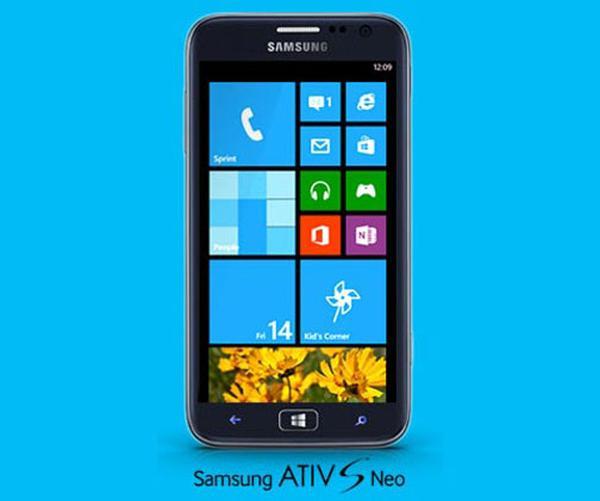 Sprint teases Samsung ATIV S Neo