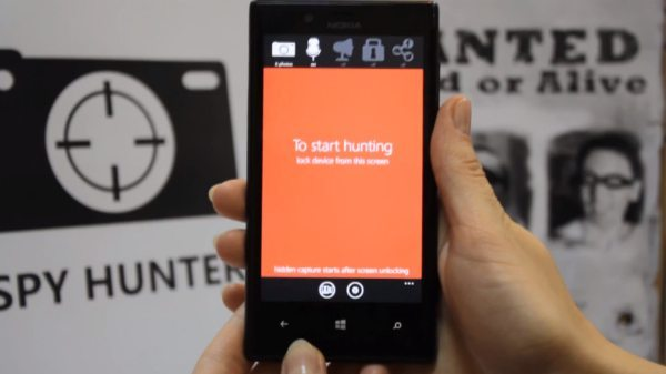 Spy Hunter WP8 app can uncovers spies, thieves pic 2
