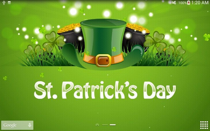 St Patricks Day Live Wallpaper And Countdown Android Apps