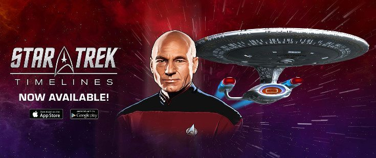 Star Trek Timelines brings the Star Trek Universe to mobiles