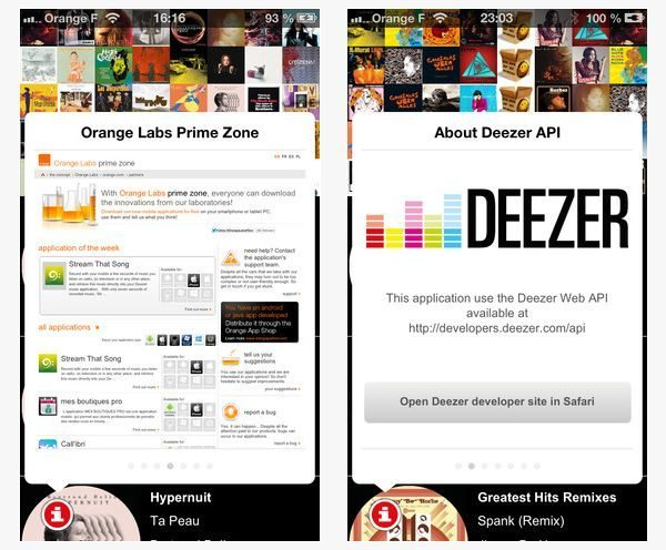Stream that song, a Shazam-like with direct reference on Deezer