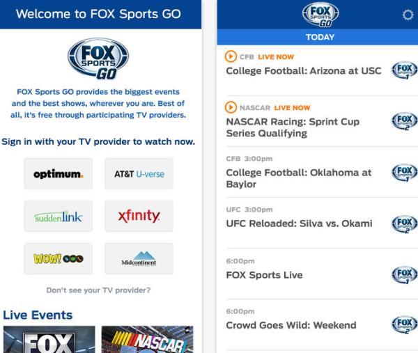 Super Bowl 2014, NFL Playoffs via Fox Sports Go