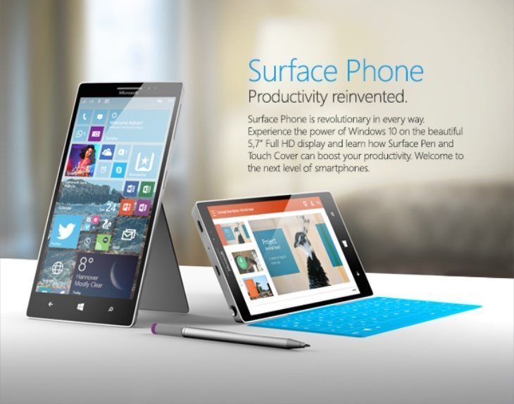 Surface Phone design