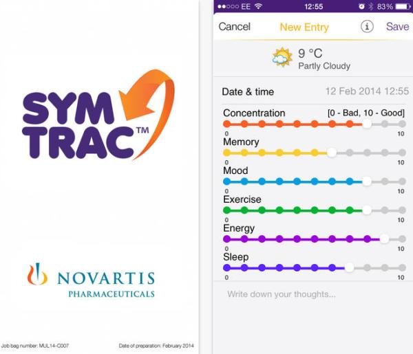 SymTrac free iPhone app helps sufferers of MS, Android soon