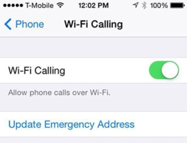 T-Mobile iPhone WiFi caling with iOS 8 beta 3