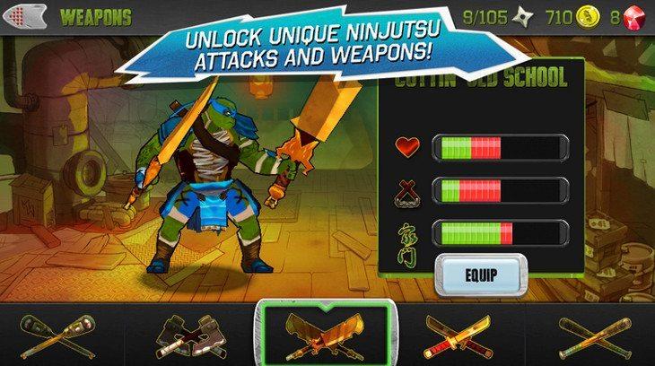 teenage mutant ninja turtles movie game
