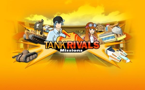 Tank Rivals Missions and Hordz 3D BB10 apps