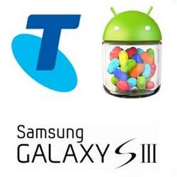 Telstra Galaxy S3 & Optus / Vodafone One X Jelly Bean Update