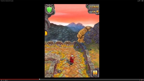 Temple Run 2 update unlocks 2013 Santa Claus