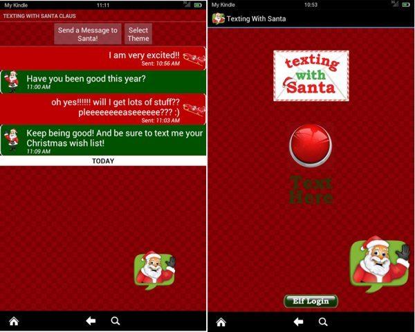 Texting With Santa