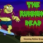 The Running Dead for iPhone app, zombie racing