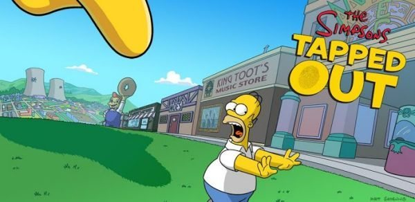 The Simpsons Tapped Out Springfield app