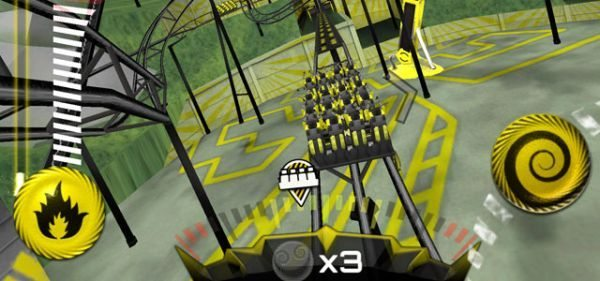 The Smiler Rollercoaster game app by Alton Towers Resort