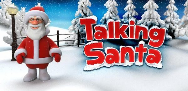The Talking Santa Claus, Ginger app for Christmas fun