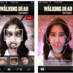 The Walking Dead Yourself app, create your zombie character