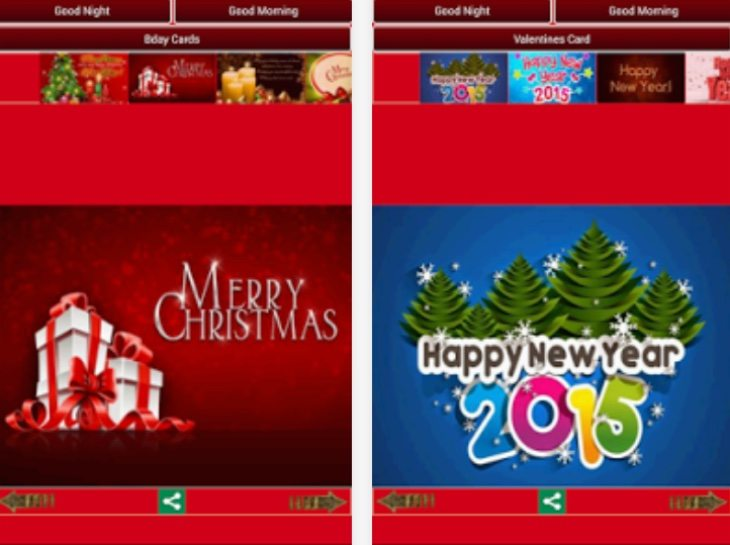 Top Christmas greetings apps