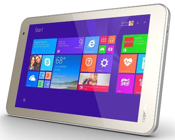 Toshiba WT8 tablet price for India at launch