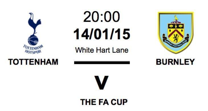 Tottenham vs Burnley fa cup news
