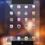 Transparent Apple iPad concept, the possibility of beauty
