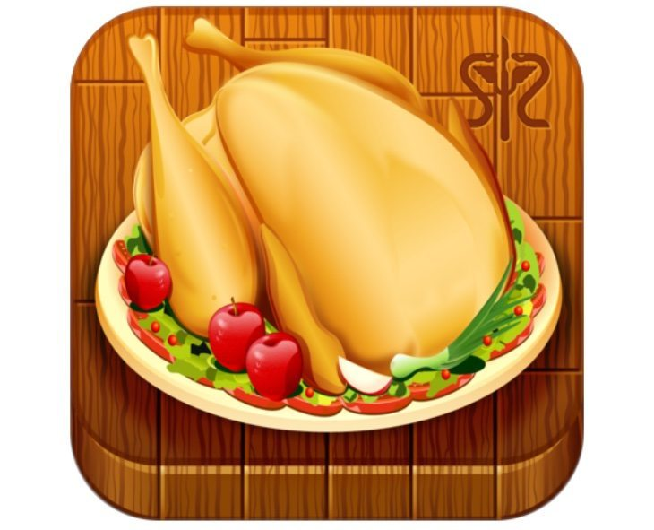 Christmas Turkey Recipe apps, iPhone and Android