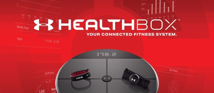 UA HealthBox is announced by HTC and Under Armour