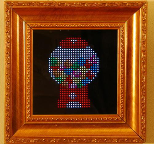 Use Android devices to change PIXEL Interactive LED real Art