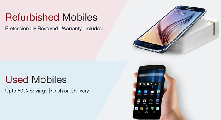 Used and refurbished phones in India now on Amazon