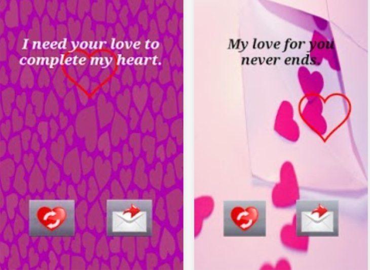 Valentine's Day apps b