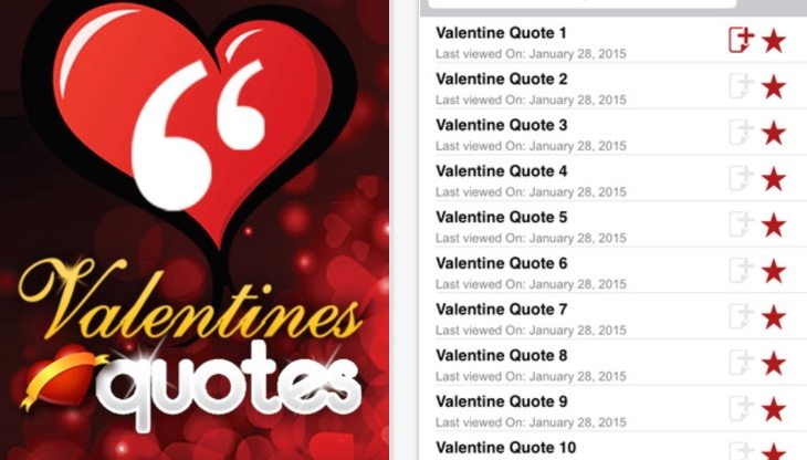 Valentines Day quotes and poems