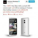 Verizon confirms HTC One Max availability